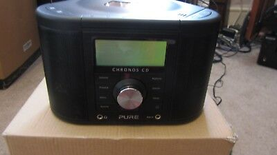 Pure Outlet Chronos CD Series 2;Digital FM Radio with CD and Power Port.