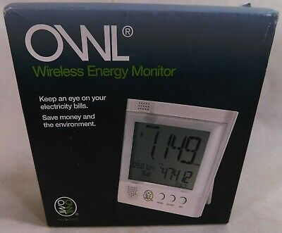 Boxed OWL Wireless Energy Monitor Unused