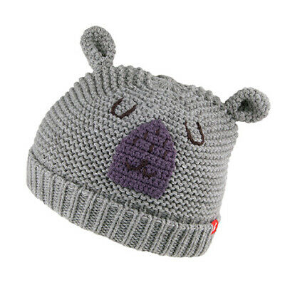 Joules Hats Baby Bear Beanie - Grey