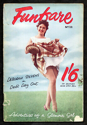 FUNFARE No.22 Oct.1959:Deborah Stevens in Deb's Day Out-Town & Country Pub.