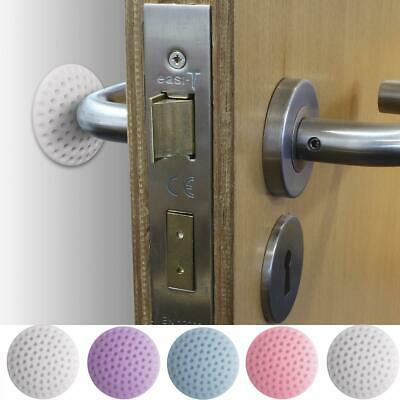 5 x Wall Protector Self Adhesive Rubber Stop Door Handle Bumper Guard Stopper