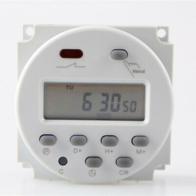 CN101A LCD Digital Power Programmable Timer 16A In Put DC 12V Time Relay Switch