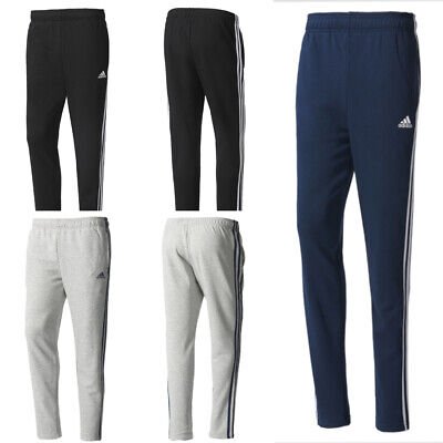 timeless design c1bf1 84dc5 Men s New Adidas ESS 3S Trouser For Bottom Jogging,Tracksuit 3 Stripe Pants