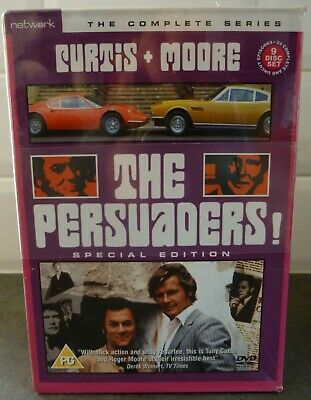 The Persuaders! - Complete Series  9-Disc Set ..New Sealed