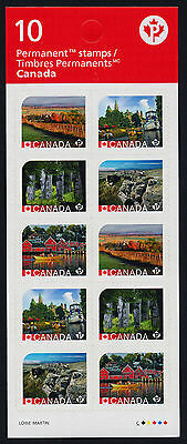 Canada 2894a Booklet MNH - UNESCO World Heritage Sites, Boat, Architecture