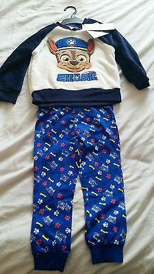 Nickelodeon  Paw Patrol Chase Fleece Twosie / pyjamas Age 3- 4 years. bnwt