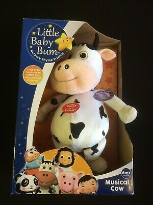 KD Toys LB8209 Musical Cow Little Baby Bum Plush Toy