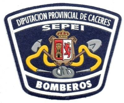parche BOMBEROS CACERES spain fire patch