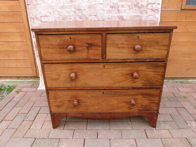 Lovely Antique Two Over Two Drawer Chest Of Drawers.