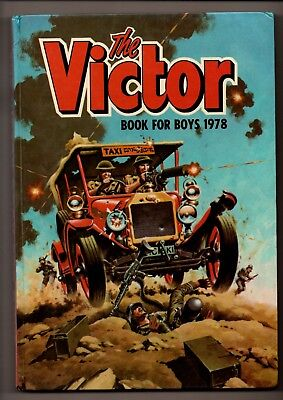 Victor for Boys Annual 1978 (D C Thomson)