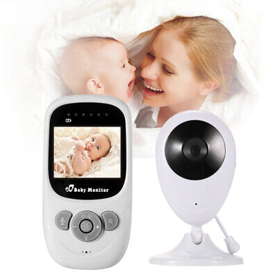 2.4GHz Wireless Digital Color LCD Baby Monitor Camera Night Vision Audio Video R