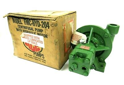 New Ace Pumps Bac-Hyd-204 Hydraulic Centrifugal Pump Bachyd204 Bac-Hyd-204Cd