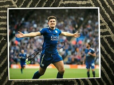 Leicester City Harry Maguire Autographed Signed 11x14 Photo COA #1