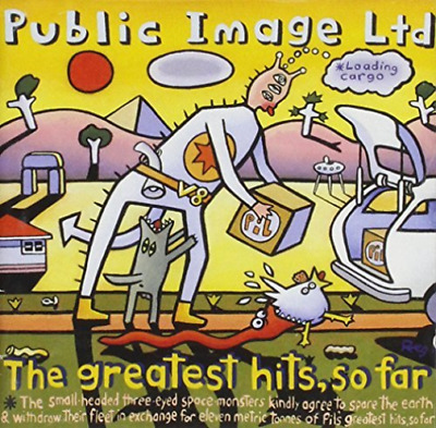 Public Image Limited / Greatest Hits So Far CD NEW