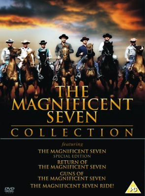 Yul Brynner, Steve McQueen-Magnificent Seven Collection DVD NEW