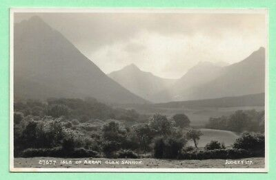 [16091] Islands R/P Postcard Isle Of Arran Glen Sannox by Judges No 27677