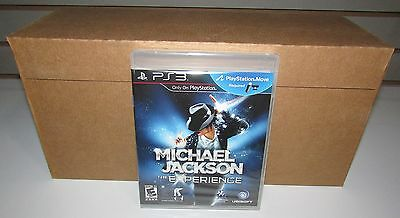 1 Sealed Case of 24 Michael Jackson The Experience Playstation 3 Wholesale Lot