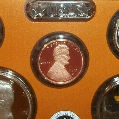 2019 S Proof Lincoln Shield Cent 1 Cent In Hand