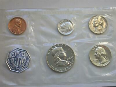 1963-P SILVER Proof Coin Set Flat Pack Franklin Half