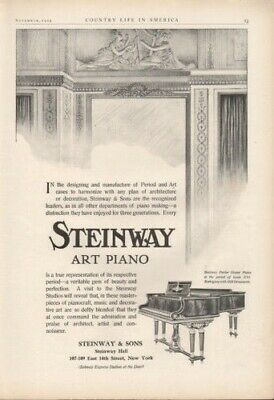 1909 Steinway  Piano Music Instrument Architecture8202