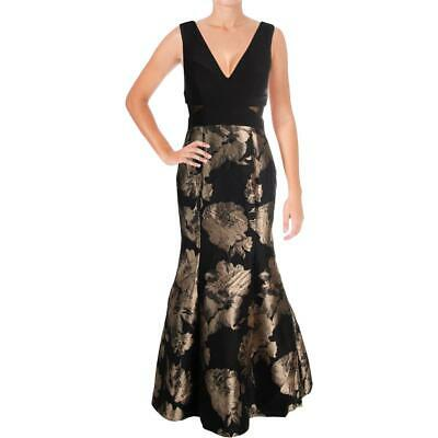 2fcba959 Xscape Womens Black Sleeveless Special Occasion Dress Gown Petites 4P BHFO  0061