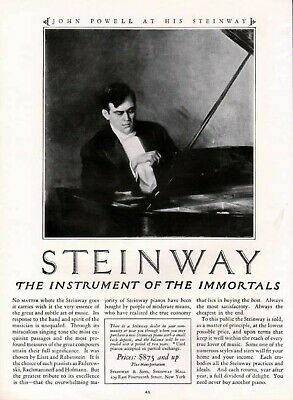 1925 John Powell Steinway Piano Music Theater 6082
