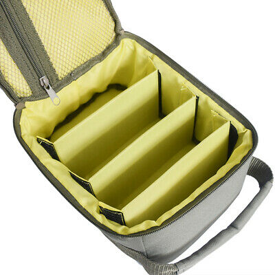 Portable Fishing Reel Storage Bag Fly Tackle Gear Lure Line Organizer Case Cover
