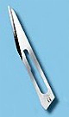 Scalpel Blade #11 Pack of 100 for Use with Handle 3, 3R, 5, 7 Surgical Supplies