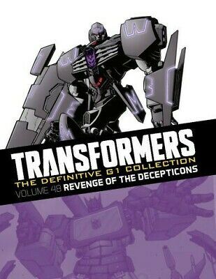 """Transformers The Definitive G1 Collection VOL 48 """"REVENGE OF THE DECEPTICONS""""#61"""