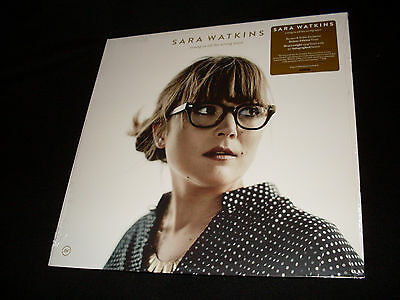 Sara Watkins signed Young In All The Wrong Ways B&N Vinyl LP with signed insert