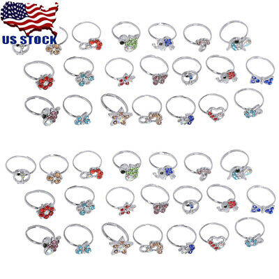 50pcs Red Glass Jewelry Men/'s Fashion Wholesale Lots Party Gifts Rings EH597
