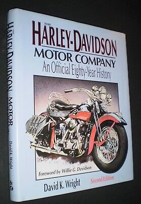 Harley-Davidson Motor Co.: Official 80-Year History–David Wright (1st Ed.,1983)