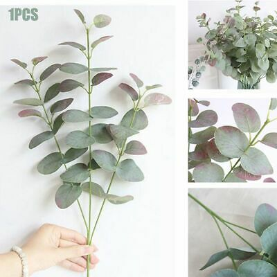 68cm Artificial Fake Leaf Eucalyptus Green Plant Silk Flowers Nordic Home Decor