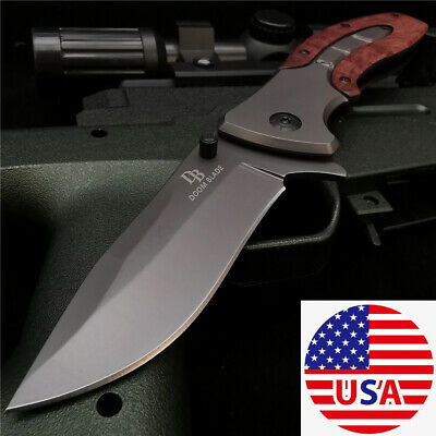Open Knife Tactical Hunting Knifes Tanto Folding Blade EDC Rescue Camping Knives
