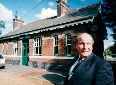 Trevor Bevan, County Station North Elmham. - Vintage photo