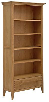 Argos Home Pembridge 5 Shelf Solid Wood Bookcase - Oak