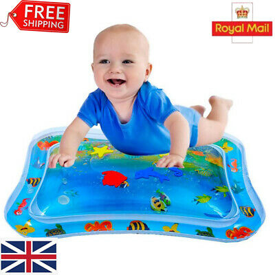 UK Water Filled Play Mat Inflatable Baby Water Fun Cushion for Children Infants