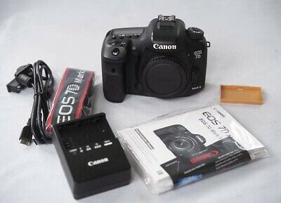 Canon Eos 7D Mark Ii 20.2Mp Digital Dslr Camera Body Ex++ Low Shutter 8065