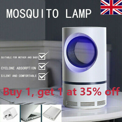 Electric Fly Bug Zapper Mosquito Insect Killer Lamp LED Light Trap Pest Control