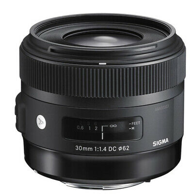 Sigma 30mm f/1.4 DC HSM Art with Hood Lens (Canon EOS APS-C) garanz