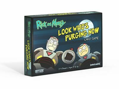 Rick and Morty The Look Who's Purging Now Card Game