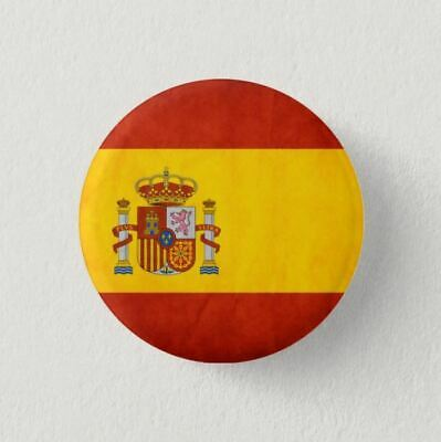 Chapa Pin Badge Button BANDERA ESPAÑA SPAIN FLAG