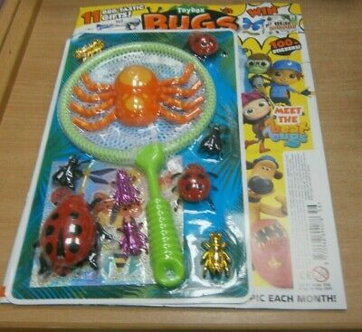 Toy Box magazine #356 2019 Bugs: + 11 Bug-tastic Gifts & Stickers