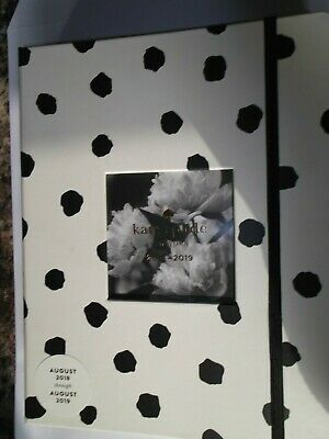 "Kate Spade Spotty Dot 18/19  Planner With 3"" x 3"" Photo Frame Cover & Stickers"