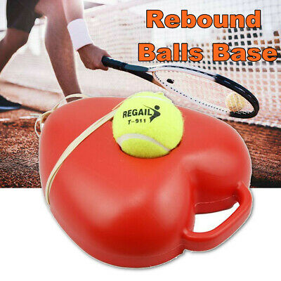Singles Tennis Trainer Self-study Practice Training Rebound Balls Baseboard Tool