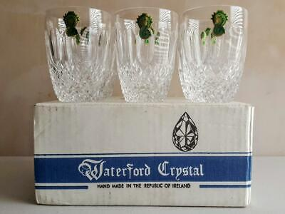 Boxed Set of Six Waterford Colleen 5oz Crystal Glass Tumblers