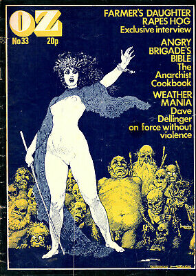 OZ No.33:Feb.1971-Timothy Leary in Algiers,Revolutionary Movements,Macrobiotic