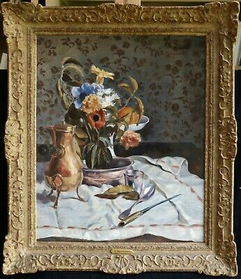 EMILE BERNARD (1868-1941) SIGNED FRENCH IMPRESSIONIST OIL FLOWERS to £980,000