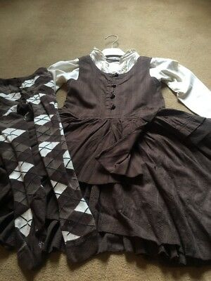 Stunning Outfit 104cm 3 Piece By Barbara Farber Age 3/4