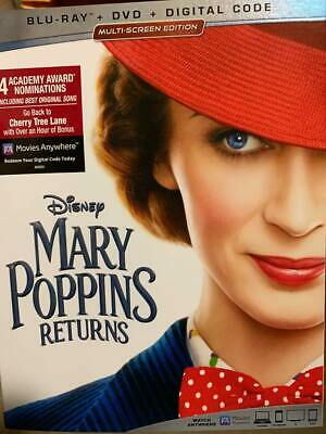 Mary Poppins Returns (Dvd Only) Disney Emily Blunt